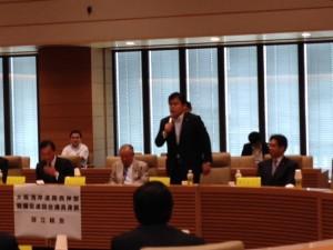 大阪湾岸道路西伸部整備促進国会議員連盟総会