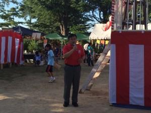 7月25日生野高原夏祭り (2)
