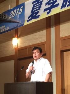 8月29日夏季議員研修 (1)