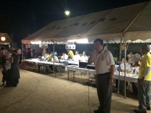 8月1日有野町地区合同夏祭り