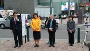 3月13日 神戸国際会館前