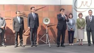 山陽明石駅前街頭演説1