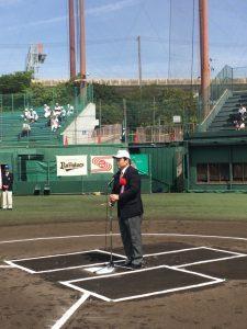 5月8日 全神戸軟式少年野球選抜大会・開会式