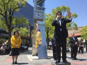 5月4日 須磨パティオ広場前 1