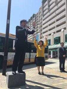 5月4日 JR垂水駅北 2