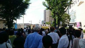 6月18日 西神中央駅前街頭 3