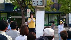 6月18日 名谷駅パティオ 2