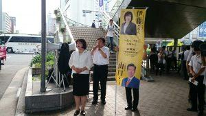 7月11日 三宮駅南側1