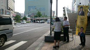 7月11日 三宮駅南側2