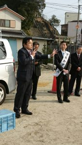 1月29日守本かずひろ・南あわじ市長選挙候補 2