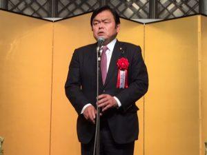 1月12日 日本弁理士会・日本弁理士政治連盟、新年賀詞交歓会 2